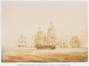 Agamemnon_engaging_four_French_frigates.jpg