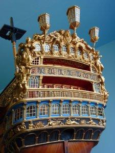 detailed stern hms royal william.JPG