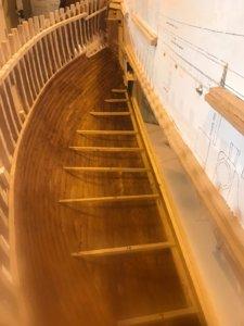 Mayflower Dartmouth ceiling stained, gun deck beams.jpg