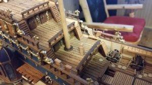 667 Mizzenmast and Mast Coat Glued Onto Deck.jpg