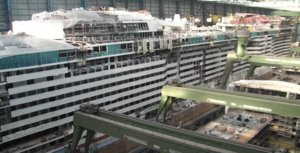 Odyssey of the Seas under construction.jpg