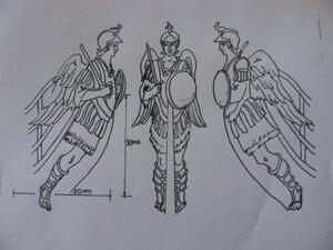 353 Arcangel Miguel dibujo de Leopoldo.JPG