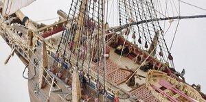 Forecastle Deck With Belayed Rigging Lines, VASA -Rex Stewart.jpg