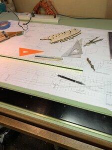 Drafting control grid on plan.jpg