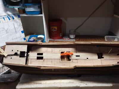 366 Fluit, Zeehaen upper deck planking.jpg