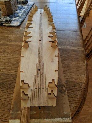 3 - Start of Gun Deck Planking.jpg