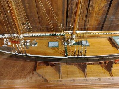 Bluenose Model by Capt George Myra , Midships.jpg