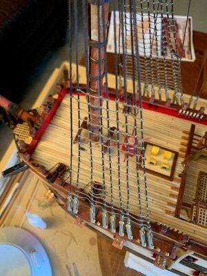 Working on Rope ladders pic1.jpg