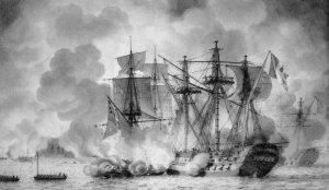 Regulus_under_attack_by_British_fireships_August_11_1809.jpg