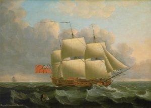 John Cleveley Royal Caroline Yacht.jpg
