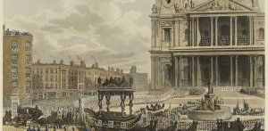 'Funeral Procession of the late Lord Viscount Nelson, from the Admiralty to St Paul's, London,...jpg