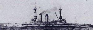 HMS_Cornwallis_(1901)_sinking_9_January_1917.jpg