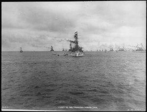 lossy-page1-1280px-Virginia_(BB13)._Fleet_in_San_Francisco_Harbor,_Virginia_bow_on,_1908_-_NAR...jpg