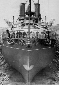 HMS_Victoria_bow_in_dock_Malta.jpg