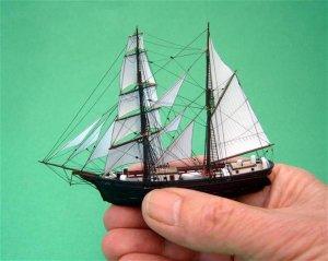 Mary Celeste in hand.JPG