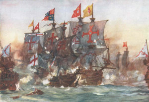 The_Last_fight_of_the_Revenge_off_Flores_in_the_Azores_1591_by_Charles_Dixon.jpg