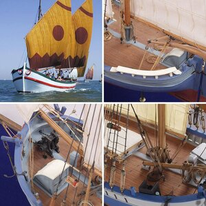 Trabakul - adriatic fishing boat