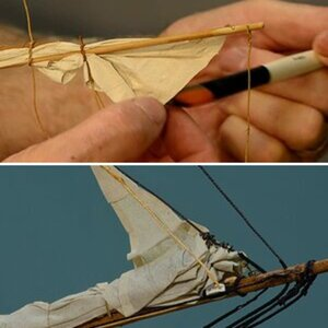 Making scale sails