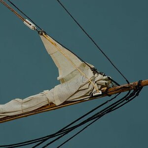 Making Sails for Ship Models from Silkspan, Parts 1 & 2
