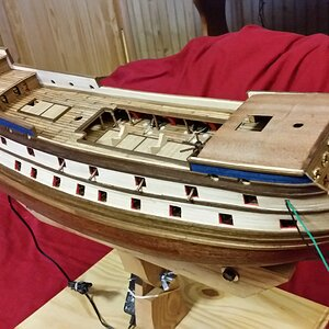 214 Added Some Walnut Trim on Gunwales.jpg